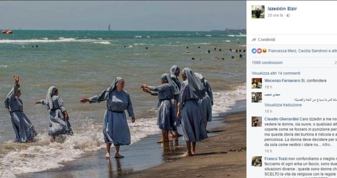 Polemica burkini, bloccato Facebook dell'Imam di Firenze