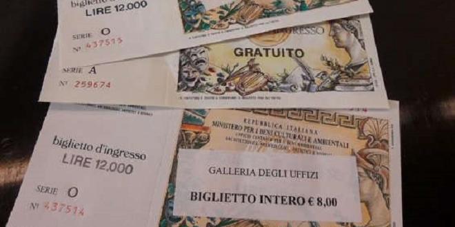 Firenze, guasto ai pc degli Uffizi E i biglietti tornano in lire