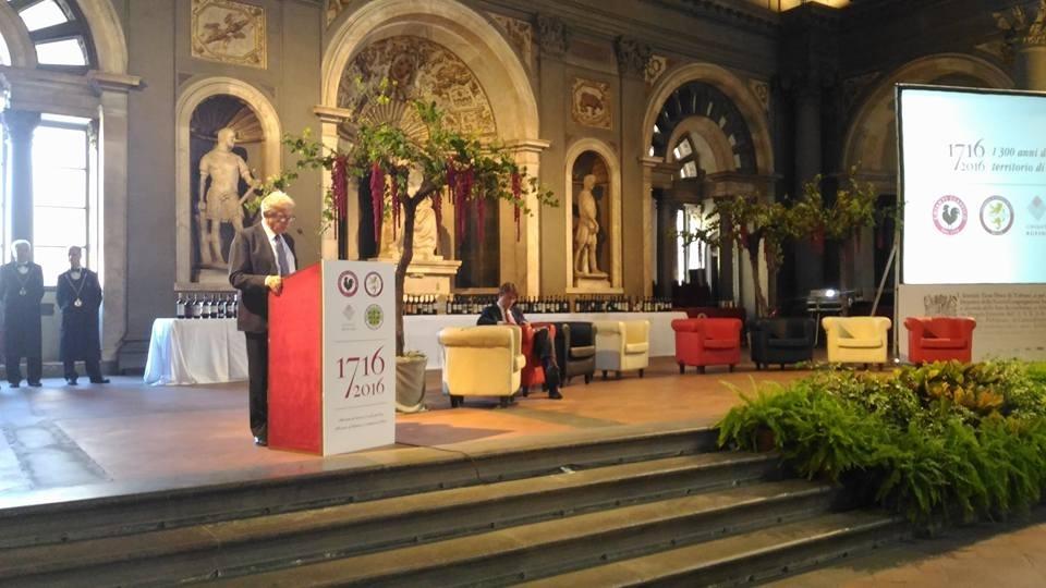 Firenze, celebrazione per il 300 anni di vino toscano
