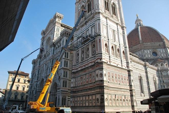 Terremoti, Campanile di Giotto sottoposto a check-up completo