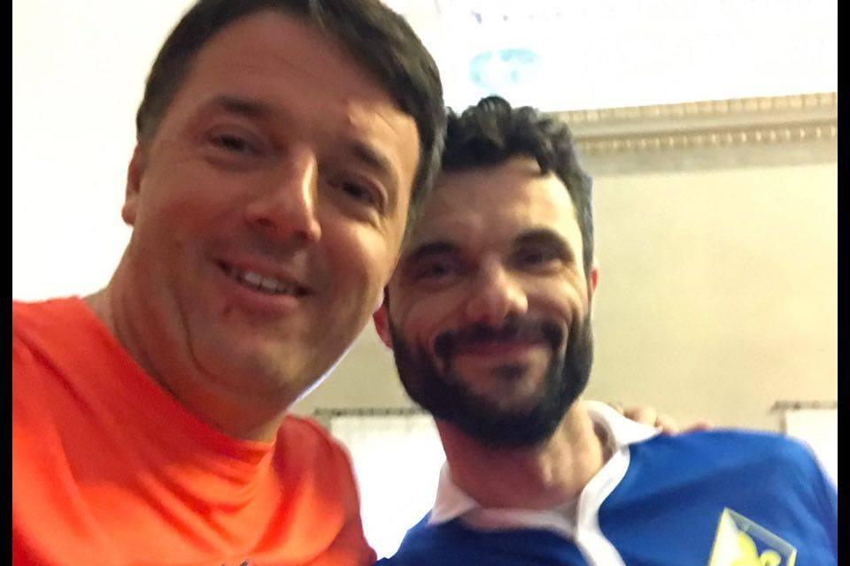 Matteo Renzi corre la Maratonina Città di Prato