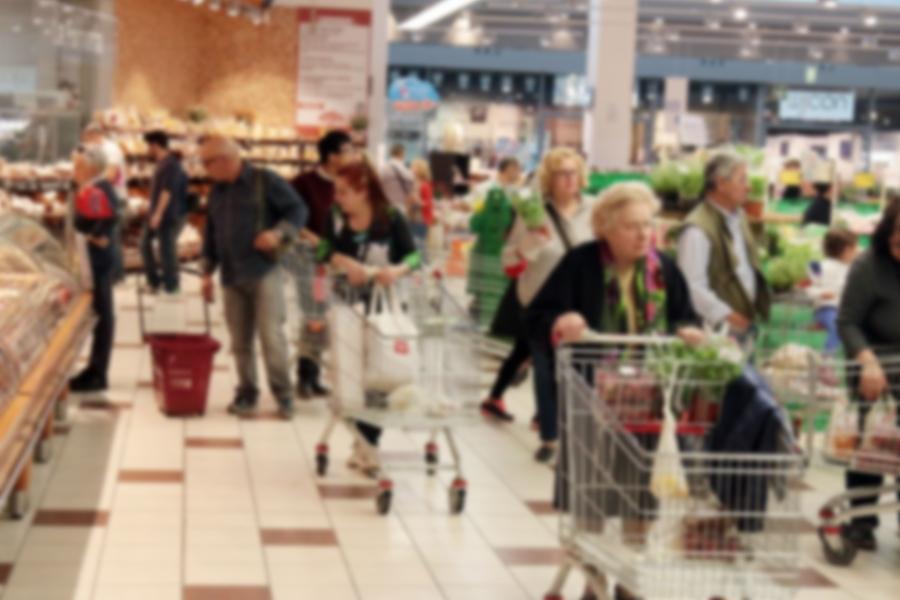 Prezzi: rallenta l'inflazione, ma sale il carrello della spesa