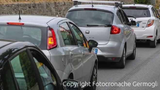 Roma Nord, toro in fuga sull'autostrada: 10 chilometri di coda
