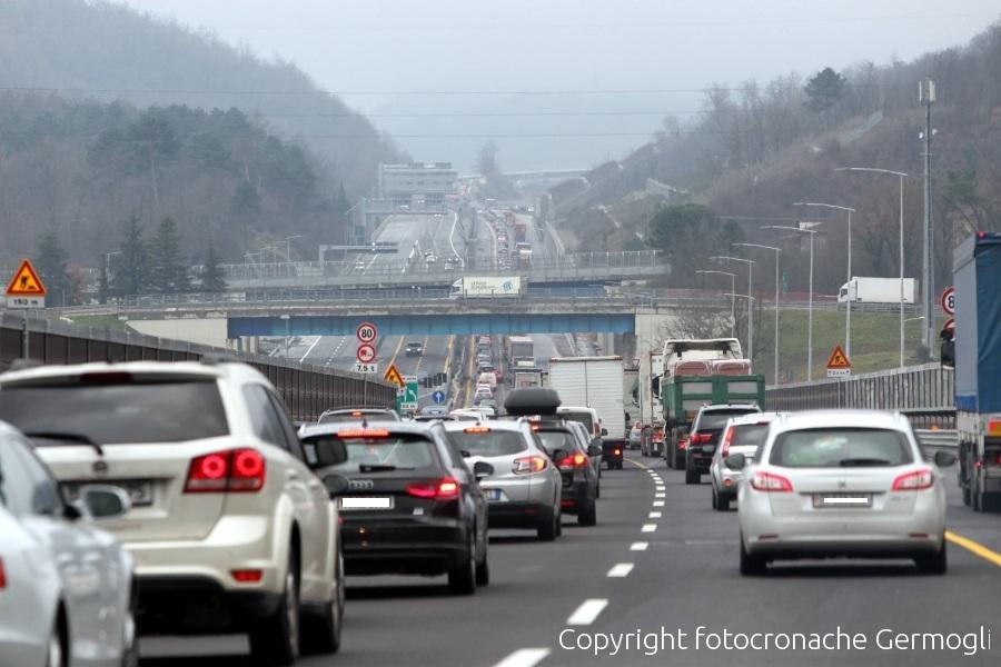 Incidente sulla A1 tra Pontecorvo e Cassino