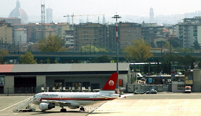 Lunedì 2 ottobre sciopero dell'aeroporto di Firenze di 24 ore