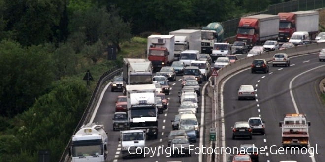 Incidente in A1 tra Incisa e Firenze Impruneta in direzione Firenze