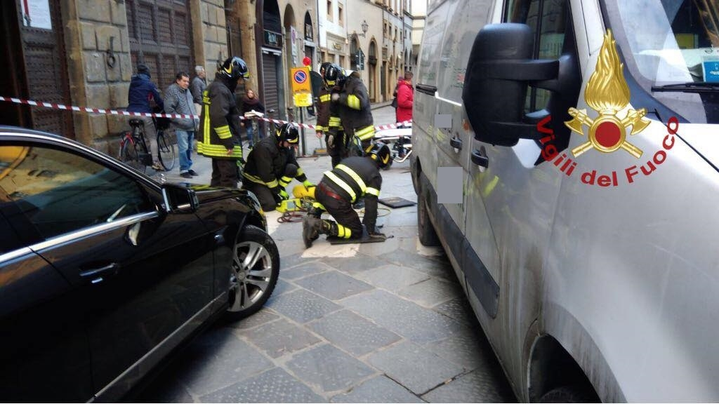 Catania, incidente in centro: investito un pedone