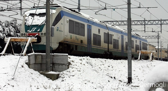 Scatta la nuova allerta neve: cancellato un terzo dei treni