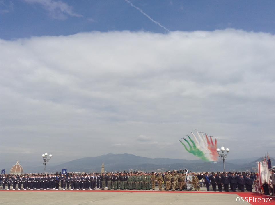 95° anniversario della costituzione dell'Aeronautica Militare a Firenze le celebrazioni