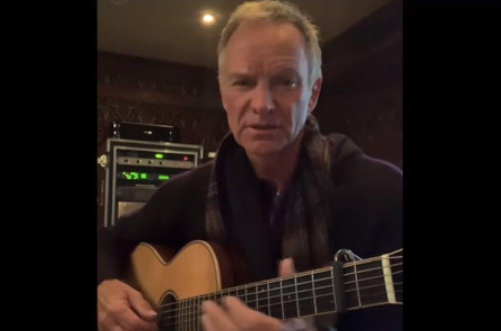 Sting dedica una canzone all'Italia: