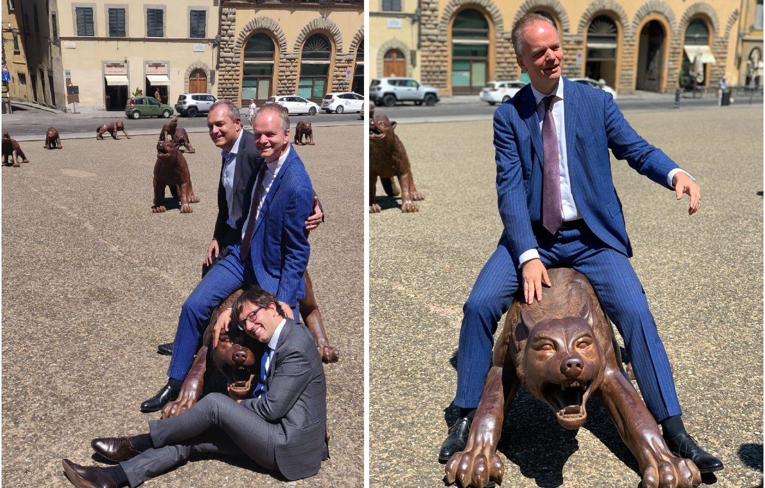 Lupi in arrivo a Firenze