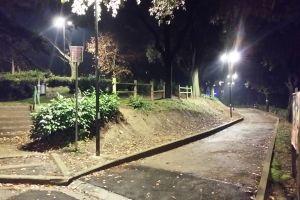 Firenze nuova illuminazione per san miniato al monte luci a led